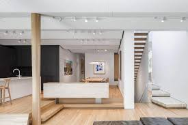 open modern floor plans the modern rosemary house fills the open floor plan living with a