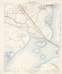 Galveston Map Texas Topographic Maps Perry Castañeda Map Collection Ut