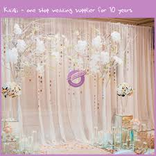 wedding backdrop fabric curtain backdrop for weddings decorate the house with beautiful