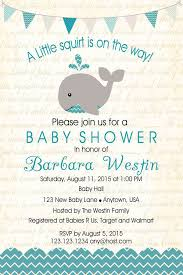 whale baby shower ideas templates free printable whale baby shower invitations