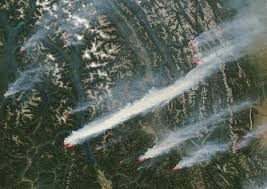 Wildfire Bc Pictures by Incredible Fire Season In Bc Summer 2003