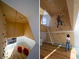 Modern Homes Featuring A Rockclimbing Wall - Home rock climbing wall design