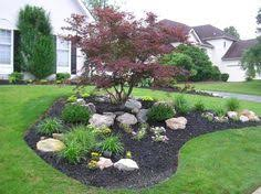 Designing Flower Beds Design An Island Bed Yards Front Yards And Lawn