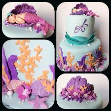mermaid baby shower baby shower cakes the sea cakes for baby shower