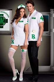 Mary Jane Halloween Costume White Green Medical Mary Jane Costume Nurse Costume