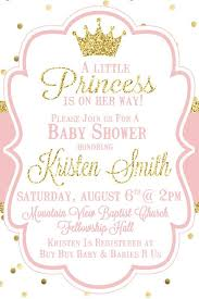 it s a girl baby shower ideas princess baby shower invitation pink by sweetsimplysouthern