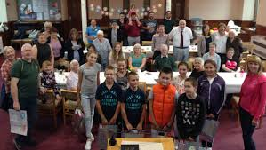 nairn free church hosts chernobyl kids free church of scotland