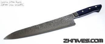 zdp 189 kitchen knives sanetsu 270mm gyuto zdp 189 steel 64 66hrc