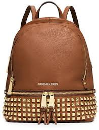 designer taschen outlet michael kors michael michael kors rhea studded leather backpack diese und