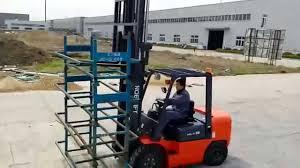 noelift 3ton diesel forklift operation video youtube
