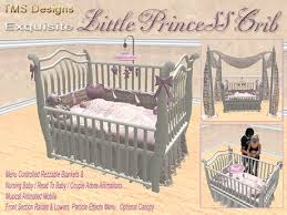 Bed Crib Second Marketplace Princess Nursery Crib Bed Pink