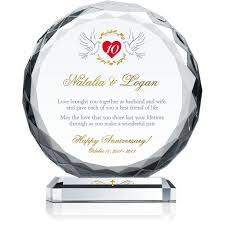 10th wedding anniversary gifts christian 10th wedding anniversary gift wording sle by