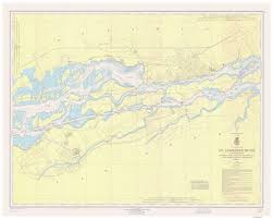 St Lawrence River Map New York Historical Nautical Charts