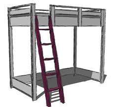 Build A Loft Bed With Storage by Ana White How To Build A Loft Bed Diy Projects