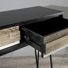 console 3 tiroirs console 3 tiroirs meubles macabane meubles et objets de décoration