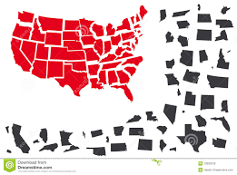 United States Vector Map by United States Vector Map Royalty Free Stock Photos Image 13932318