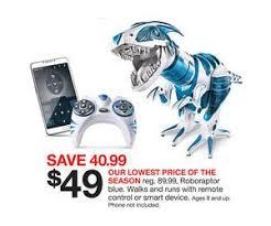target deal of black friday roboraptor blue deal at target black friday sale