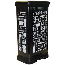 poubelle cuisine pedale 50l curver poubelle à pédale 50l kitchen achat vente poubelle