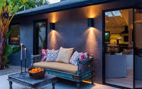 Outdoor Patio Wall Lights How To Replace Exterior Wall Light Fixtures With Led Outdoor
