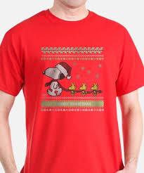 snoopy christmas shirts peanuts christmas t shirts cafepress