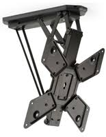 Vaulted Ceiling Tv Mount by Tv Pole Mount Bracket For Displaying A Flat Screen Monitor