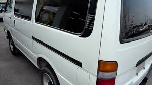 2001 hiace van manual diesel youtube