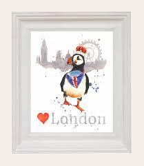 love london puffin framed jpg 2335 2701 tattoo concepts