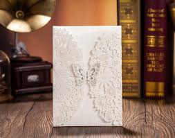 gift cards for cheap wedding invitations laser cut gift cards cheap envelopes ribbon