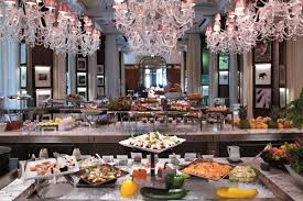 la cuisine royal monceau year brunch at le royal monceau the luxe insider