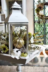 lantern centerpiece fall lantern centerpiece confessions of a serial do it yourselfer