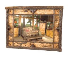 36 X 48 Bathroom Mirror by Rustic Mirrors With Wildlife Designs
