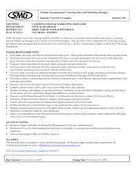 Catering Job Description Resume by Medicare Auditor Cover Letter