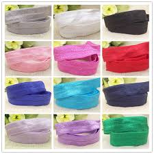 elastic ribbon by the yard free shipping 10 yards solid color elastic ribbon 5 8 15mm width