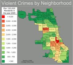 Chicago Map Downtown by File Chicago Violent Crime Map Png Wikitravel