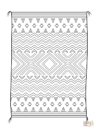 american indian coloring pages navajo blanket coloring page free printable coloring pages