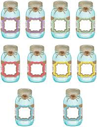 Shabby To Chic by Shabby Chic Mason Jars Accents Tcr77191 Teacher Created Resources