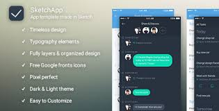 sketch to do app by roling themeforest