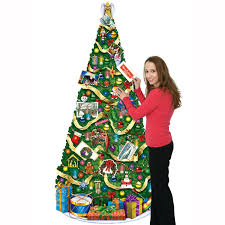 amazon com beistle 1 pack jointed christmas tree 6 feet kitchen