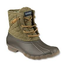 womens boots quilted sperry quilted duck boots for sperry saltwater quilted