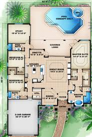 best 25 mediterranean style house ideas on pinterest mediterranean style house plan 3 beds 3 baths 2756 sq ft plan 27