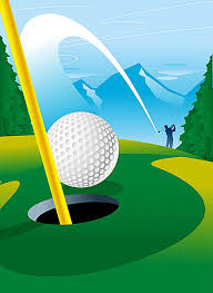 golf background template golf leisure movement background image