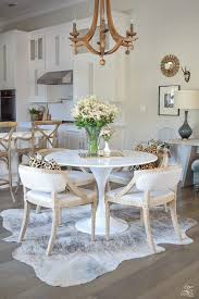 round rug for under kitchen table 92 dining table on rugs a round rug in dining space under