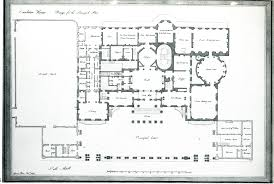 grand floor plans here is the ground floor plan of carlton house as designed by