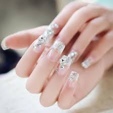 wholesale new pack glitter false nail sticker nail art decal