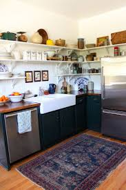 Gray Kitchen Rugs A Perfect Gray Put A Worn Oriental Rug In Your Kitchen Now