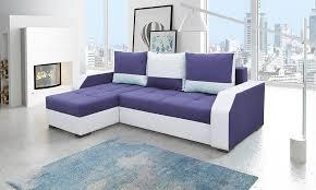 canapé violet convertible canapé d angle violet et blanc canapé design canapé contemporain