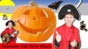 halloween kids songs party album 37 minutes 8 halloween songs