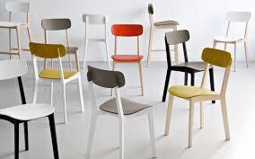 chaises cuisine couleur chaise de cuisine jaune
