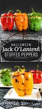 halloween jack o u0027lantern stuffed peppers picture the recipe