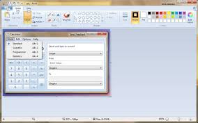 windows 7 beta 1 new paint and calculator accessories